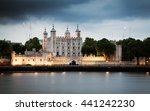 the tower of london at night  uk