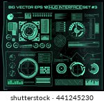 abstract future  concept vector ... | Shutterstock .eps vector #441245230
