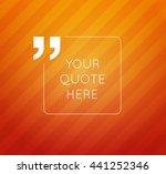 vector design template. a... | Shutterstock .eps vector #441252346