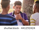 health problems and social... | Shutterstock . vector #441252424