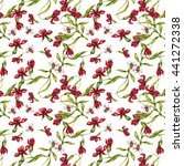watercolor seamless pattern... | Shutterstock . vector #441272338