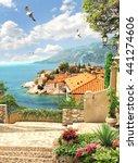 sea view   Shutterstock . vector #441274606