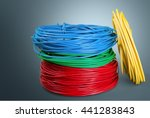 cable. | Shutterstock . vector #441283843