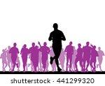 sport vector illustration | Shutterstock .eps vector #441299320