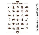 camping icon web app ui logo...