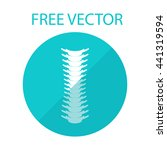 spine free vector style flat... | Shutterstock .eps vector #441319594