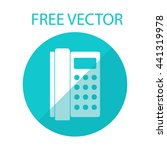 phone free vector style flat