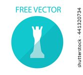 chess rook icon vector jpeg...