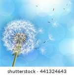trendy nature light blue... | Shutterstock . vector #441324643