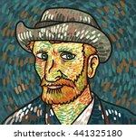 Van Gogh Painting Portrait