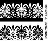 palmette anthemion pattern yin...   Shutterstock .eps vector #441326008