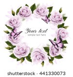 holiday background with beauty...   Shutterstock .eps vector #441330073