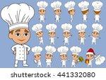 chef cook baker vector cartoon...   Shutterstock .eps vector #441332080