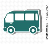 travel by bus design  vector... | Shutterstock .eps vector #441333964