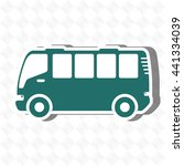travel by bus design  vector... | Shutterstock .eps vector #441334039