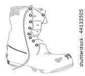 boot sketch | Shutterstock .eps vector #44133505