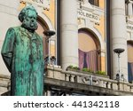 Statue Of Henrik Ibsen  One Of...