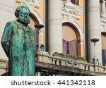 Statue Of Henrik Ibsen  One Of...