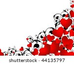 Horizontal Heart Frame In Red...