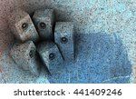 3d party sound system... | Shutterstock . vector #441409246