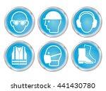 mandatory construction...   Shutterstock .eps vector #441430780