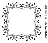 elegant luxury vintage...   Shutterstock .eps vector #441441109