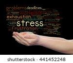 concept conceptual mental... | Shutterstock . vector #441452248