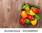 Fresh Colorful Bell Pepper Box...