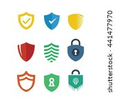 shield protection security logo ...