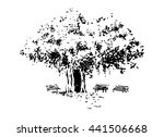 Vector Illustration.tree And...