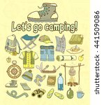camping. tourism. vector... | Shutterstock .eps vector #441509086
