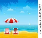 travel vector illustration with ... | Shutterstock .eps vector #441526528