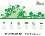 ecology connection concept... | Shutterstock .eps vector #441533170