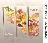 autumn background. vector eps... | Shutterstock .eps vector #441533968