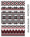 ukrainian embroider element   Shutterstock .eps vector #44156233