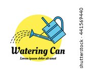 watering can colorful icon.... | Shutterstock .eps vector #441569440