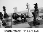 chess photographed on a... | Shutterstock . vector #441571168