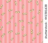 welcome baby girl decorative... | Shutterstock .eps vector #441581638