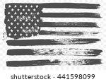 vector grunge flag of united... | Shutterstock .eps vector #441598099