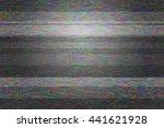 blank video glitch texture | Shutterstock . vector #441621928
