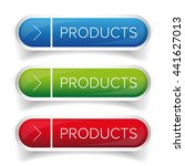 products button set vector | Shutterstock .eps vector #441627013