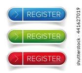 register button web vector | Shutterstock .eps vector #441627019