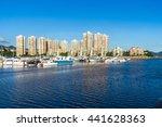 hong kong   19 jun 2016  hong... | Shutterstock . vector #441628363