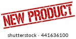 new product stamp.stamp.sign... | Shutterstock .eps vector #441636100