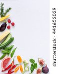 food background border frame of ... | Shutterstock . vector #441653029