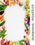 food background border frame... | Shutterstock . vector #441653119