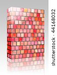 software package box colorful... | Shutterstock . vector #44168032