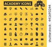 academy icons | Shutterstock .eps vector #441693244