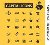 capital icons | Shutterstock .eps vector #441693259