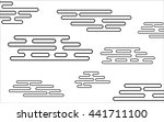 vector abstract illustration of ... | Shutterstock .eps vector #441711100